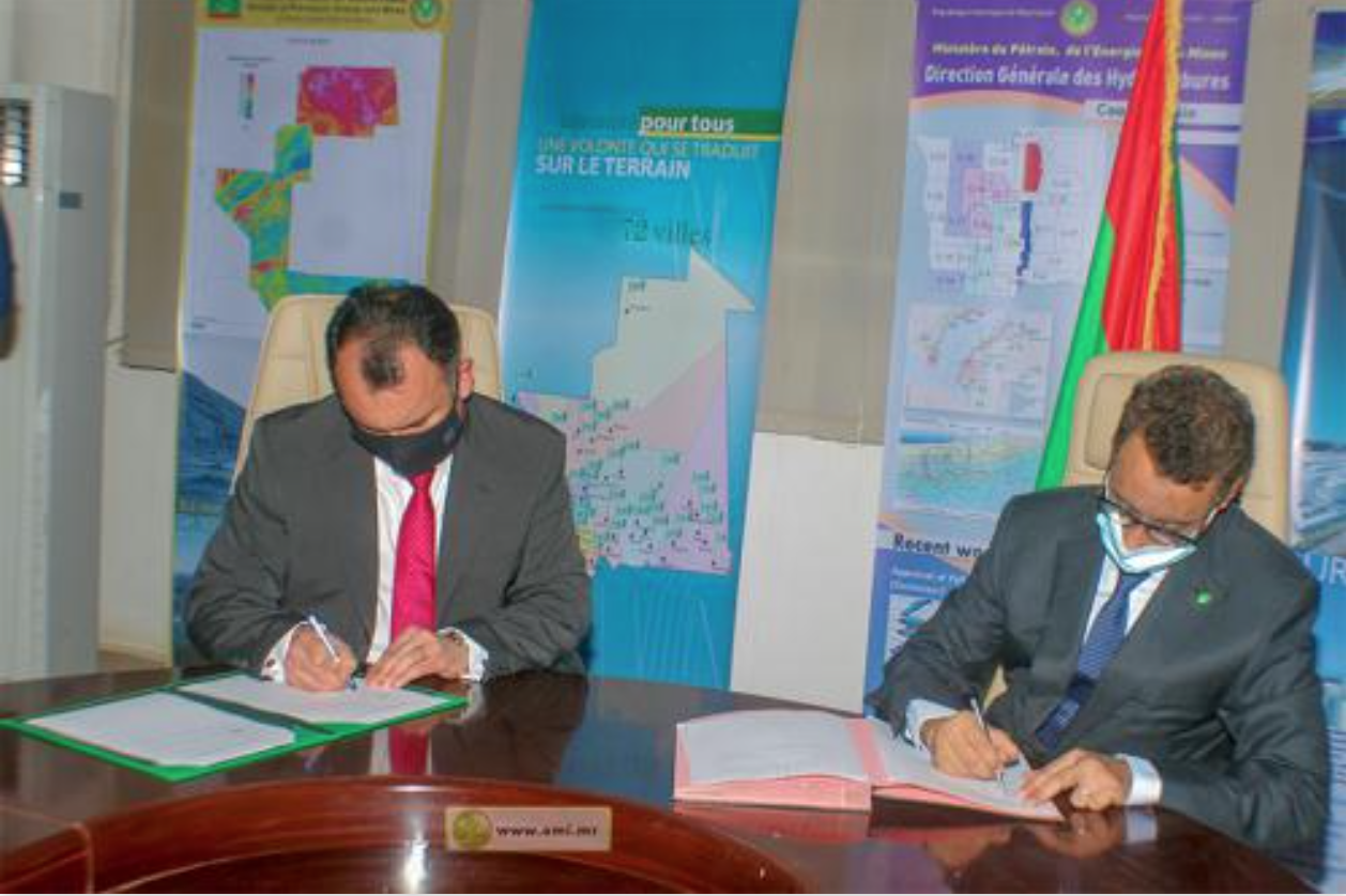 Signature d'un protocole d'accord sur les opportunités de développement des énergies domestiques