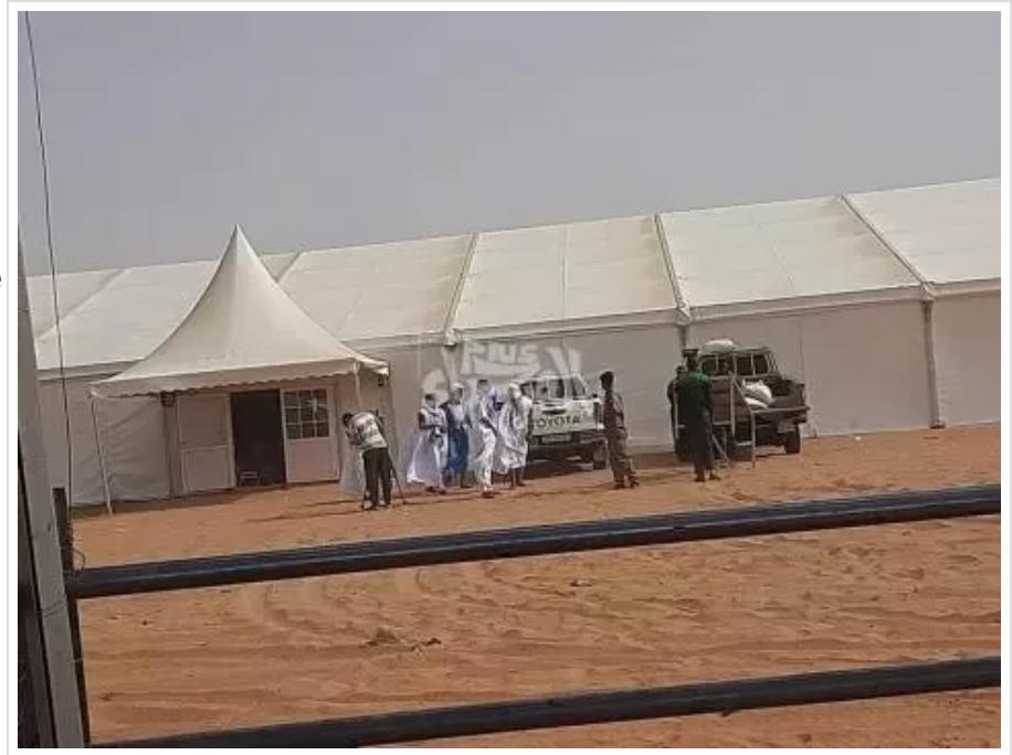 Photos : en attendant Ghazouani, préparatifs d'ouverture de la foire de l'élevage à Timbedra