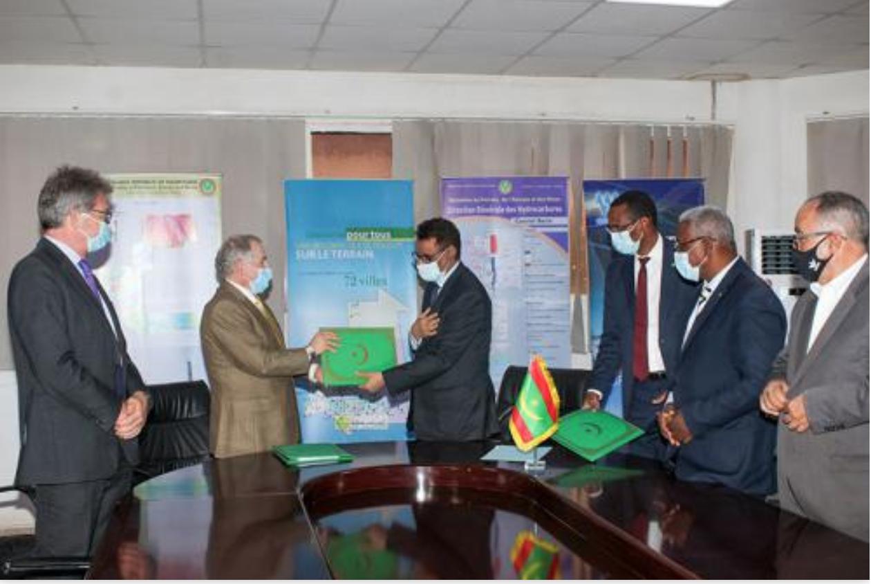 La Mauritanie et la société Cairn Energy signent contrat d'exploration-production