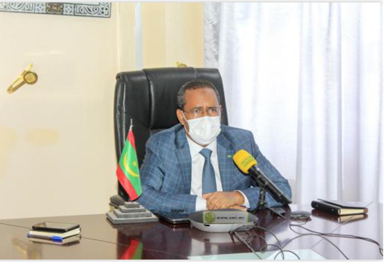 La Mauritanie participe par visioconférence à la rencontre africaine sur les infrastructures