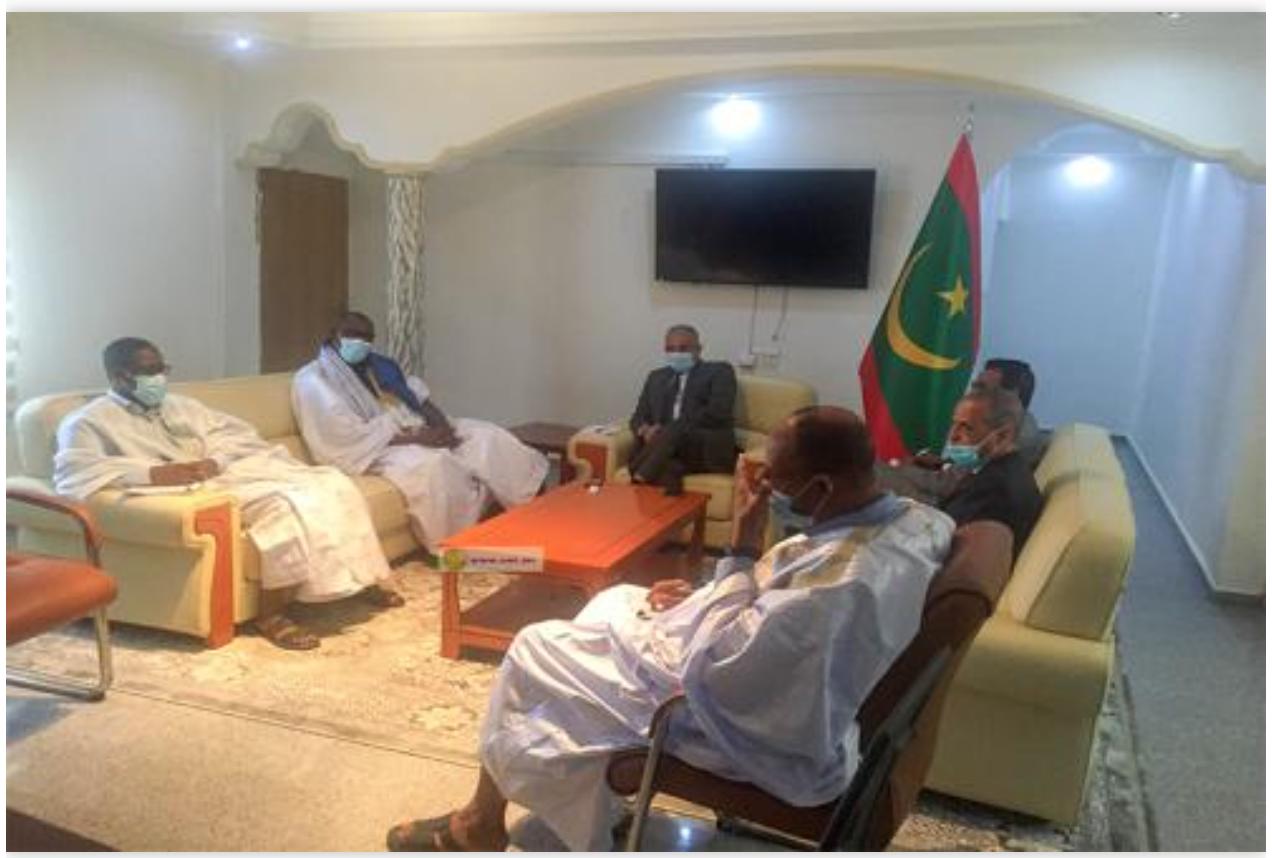 Nouadhibou : Le chef de file de l'Opposition démocratique visite des services gouvernementaux