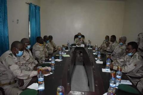 Nouakchott : Une réunion sécuritaire sous le haut commandement de Ould Meguett