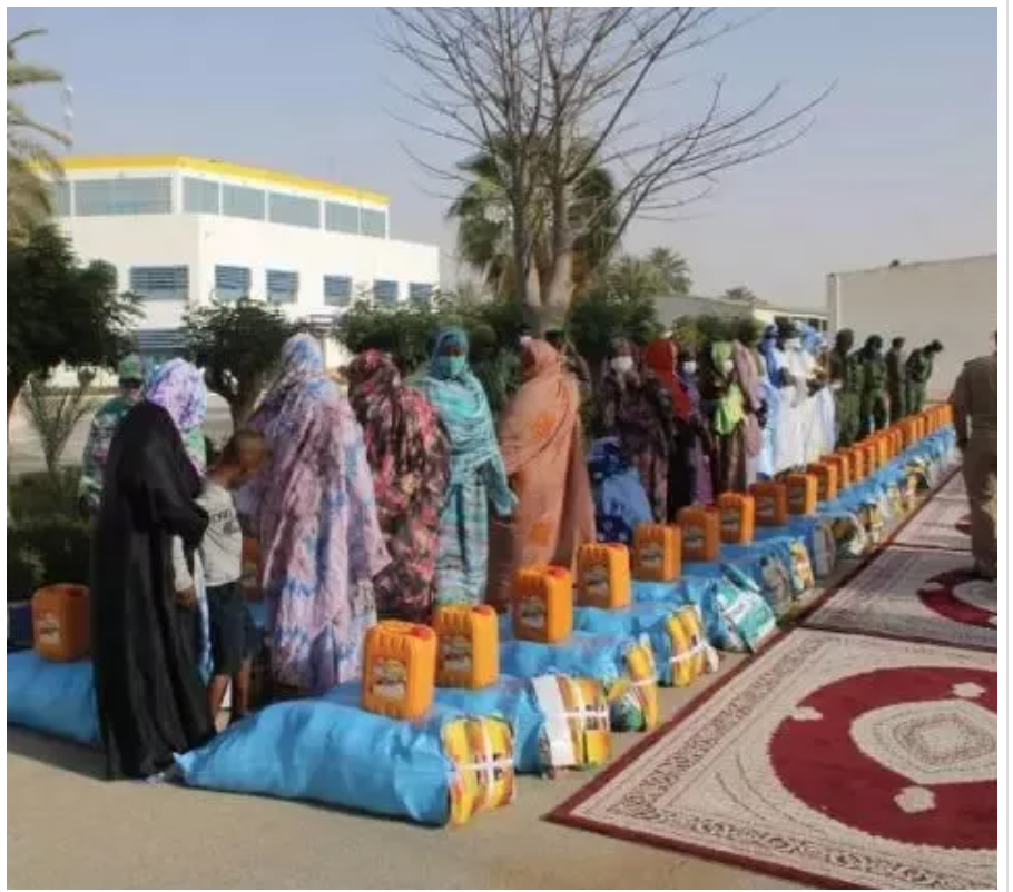"""La gendarmerie lance """"Iftar Sayem"""" au profit de membres du corps"""