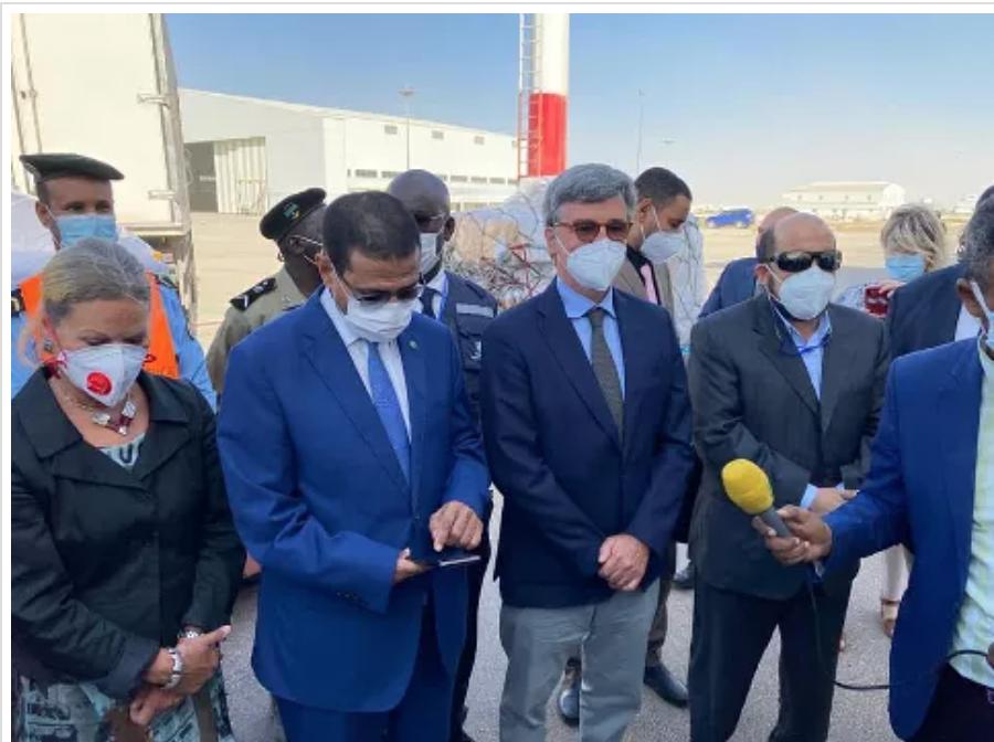 La Mauritanie réceptionne 69 000 doses de vaccin anti-covid