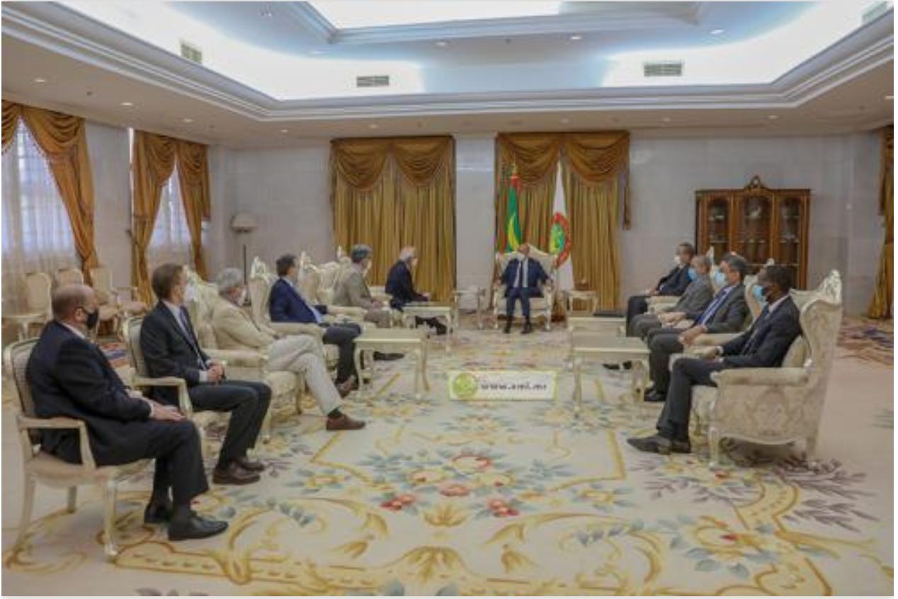 Le Président de la République reçoit le haut représentant de l'Union européenne pour les affaires étrangères et la politique de la sécurité