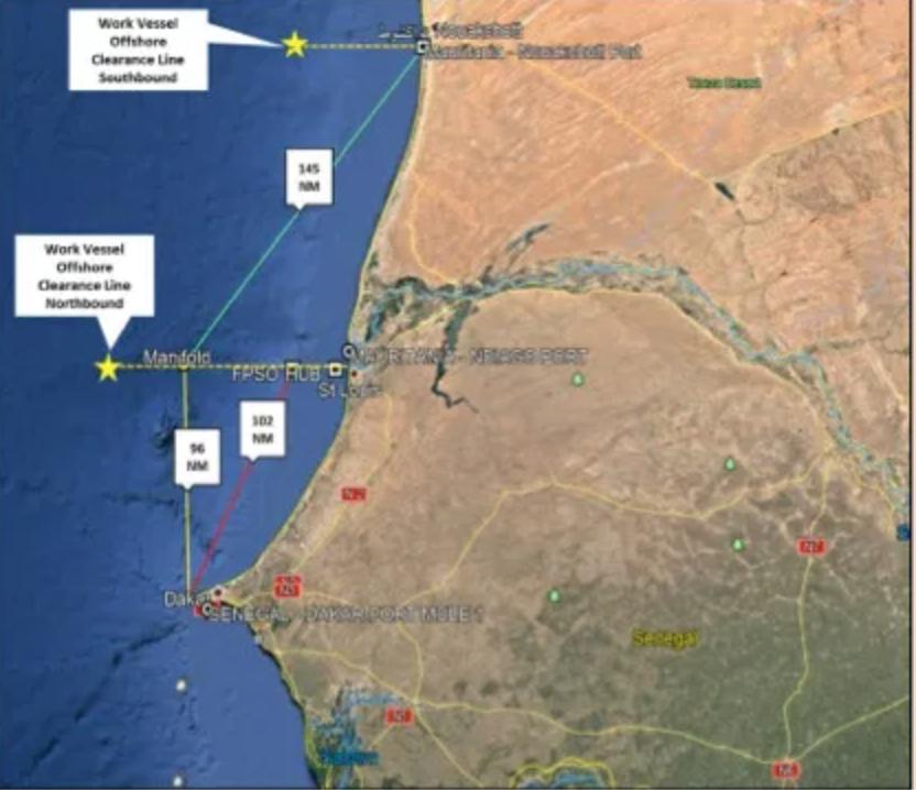Projet gazier GTA Sénégal-Mauritanie : McDermott et le casse-tête logistique