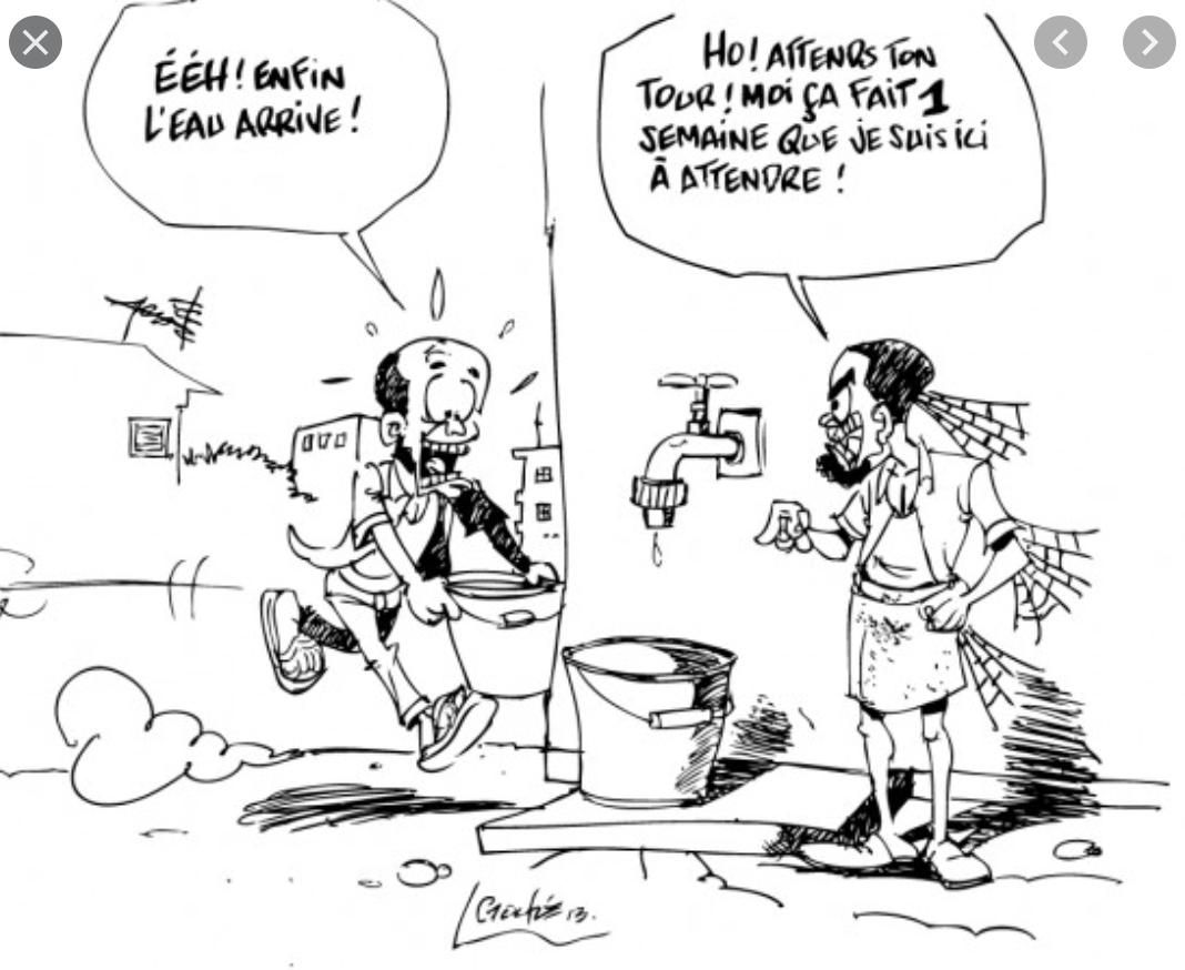 Réunion entre l'Association des maires de Nouakchott et des représentants de la SNDE
