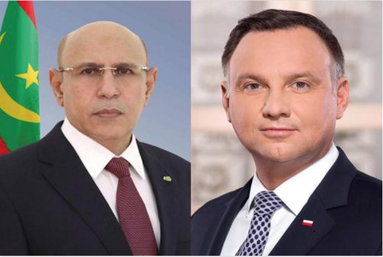 Le Président de la République félicite son homologue polonais