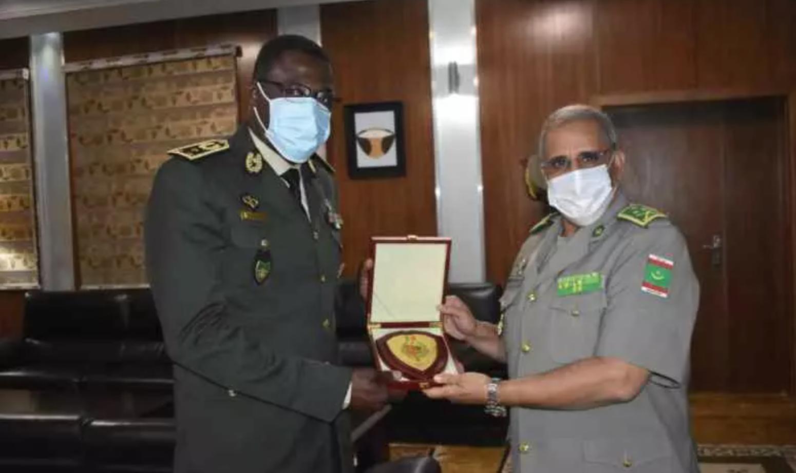 La coopération militaire mauritano-sénégalaise évoquée à Nouakchott