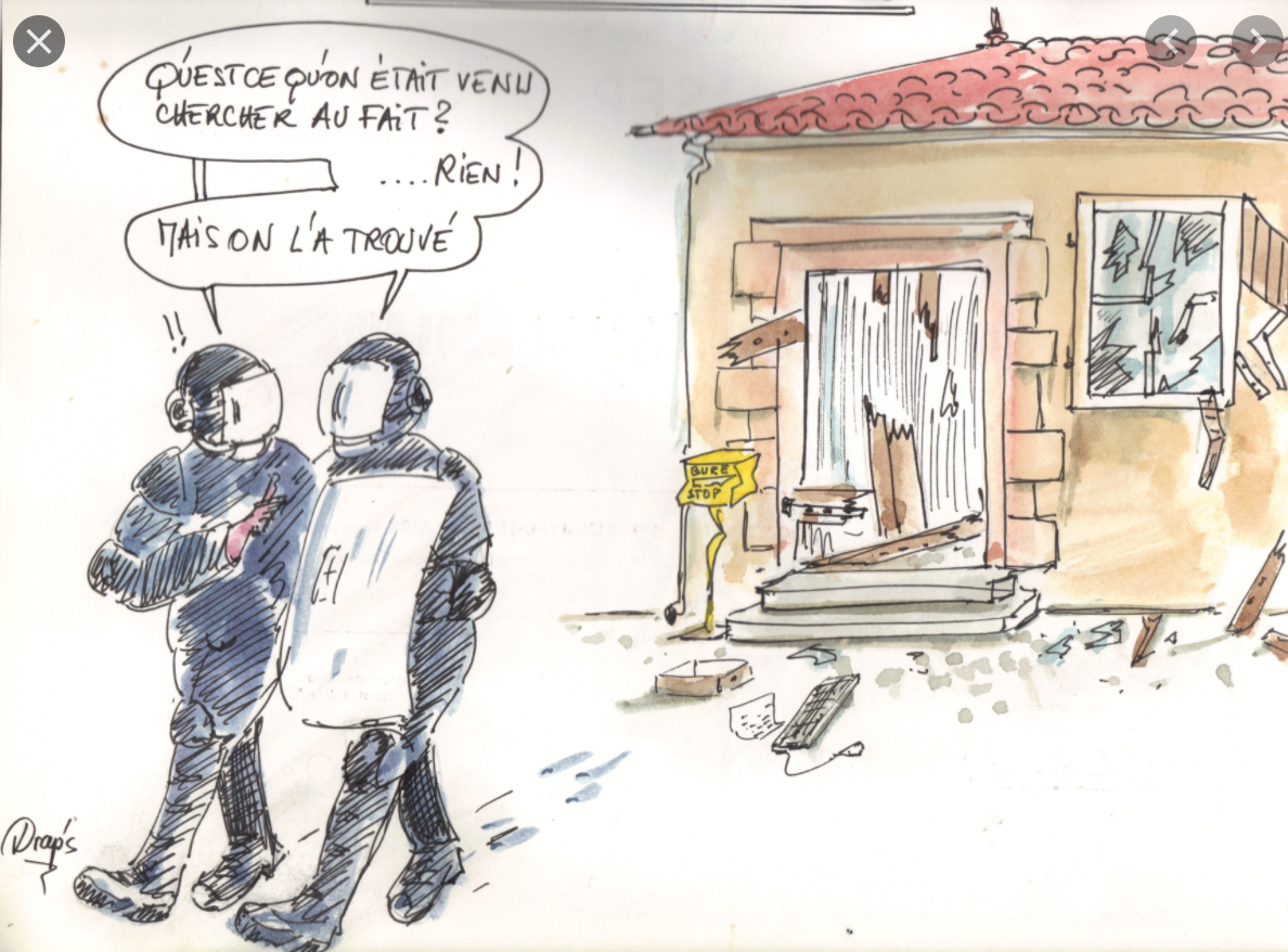 La gendarmerie perquisitionne le ranch d'Aziz