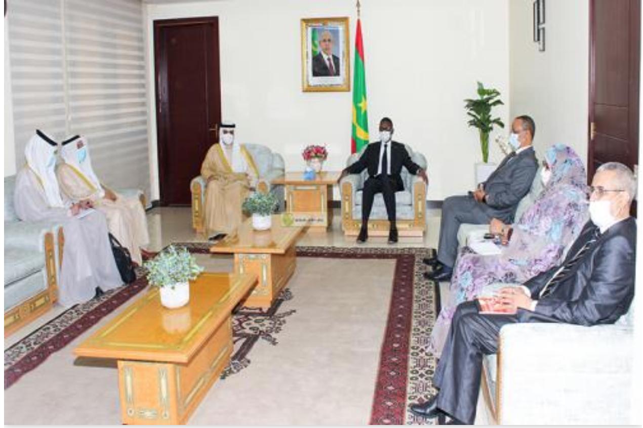 Le Premier ministre reçoit le ministre des Affaires étrangères de l'État du Koweït