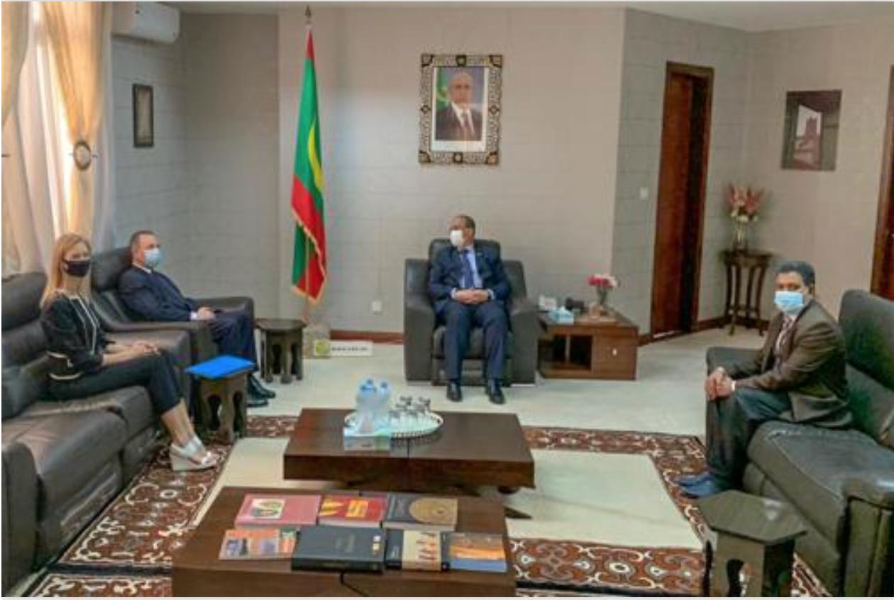 Le ministre des Affaires étrangères reçoit le nouvel ambassadeur de la Fédération de Russie