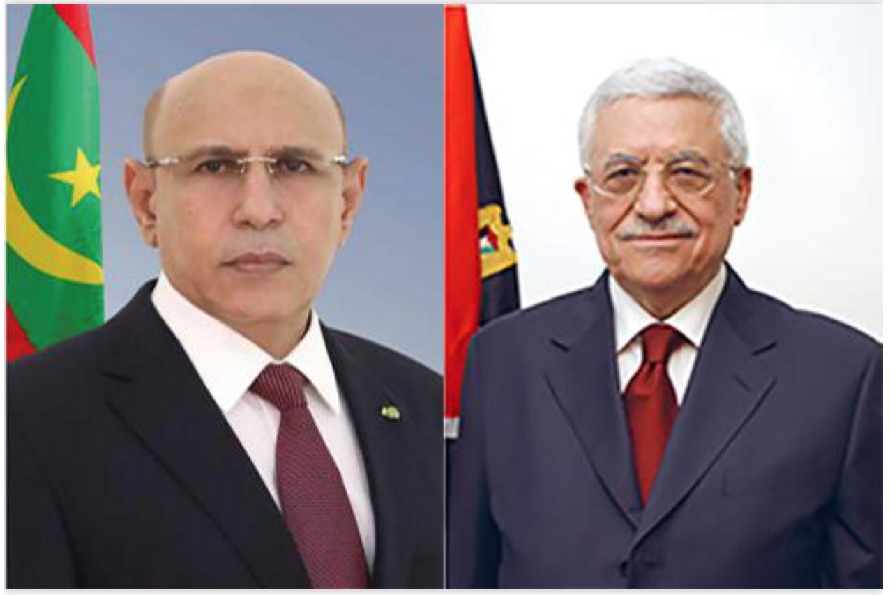 Le Président de la République s'entretient au téléphone avec le Président de l'Autorité palestinienne