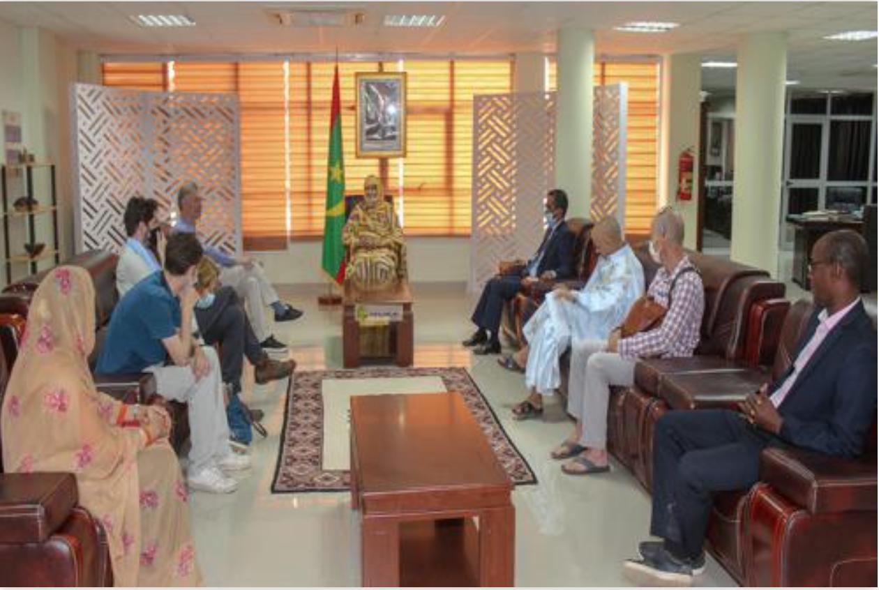 La ministre du Commerce reçoit le réalisateur du film 'Le Mauritanien'