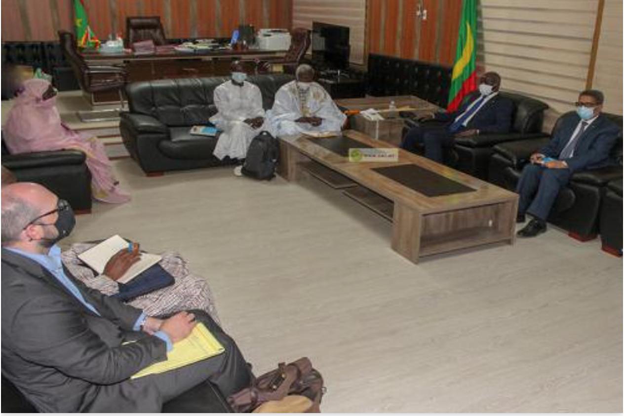 Le ministre de l'Intérieur reçoit une délégation américaine des droits de l'homme