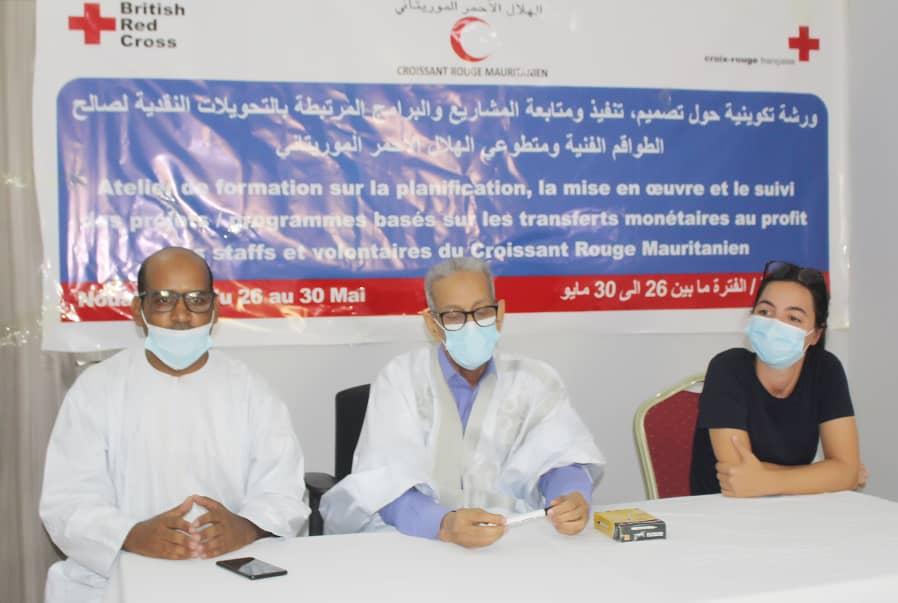 Le Croissant Rouge mauritanien outille son staff et ses volontaires