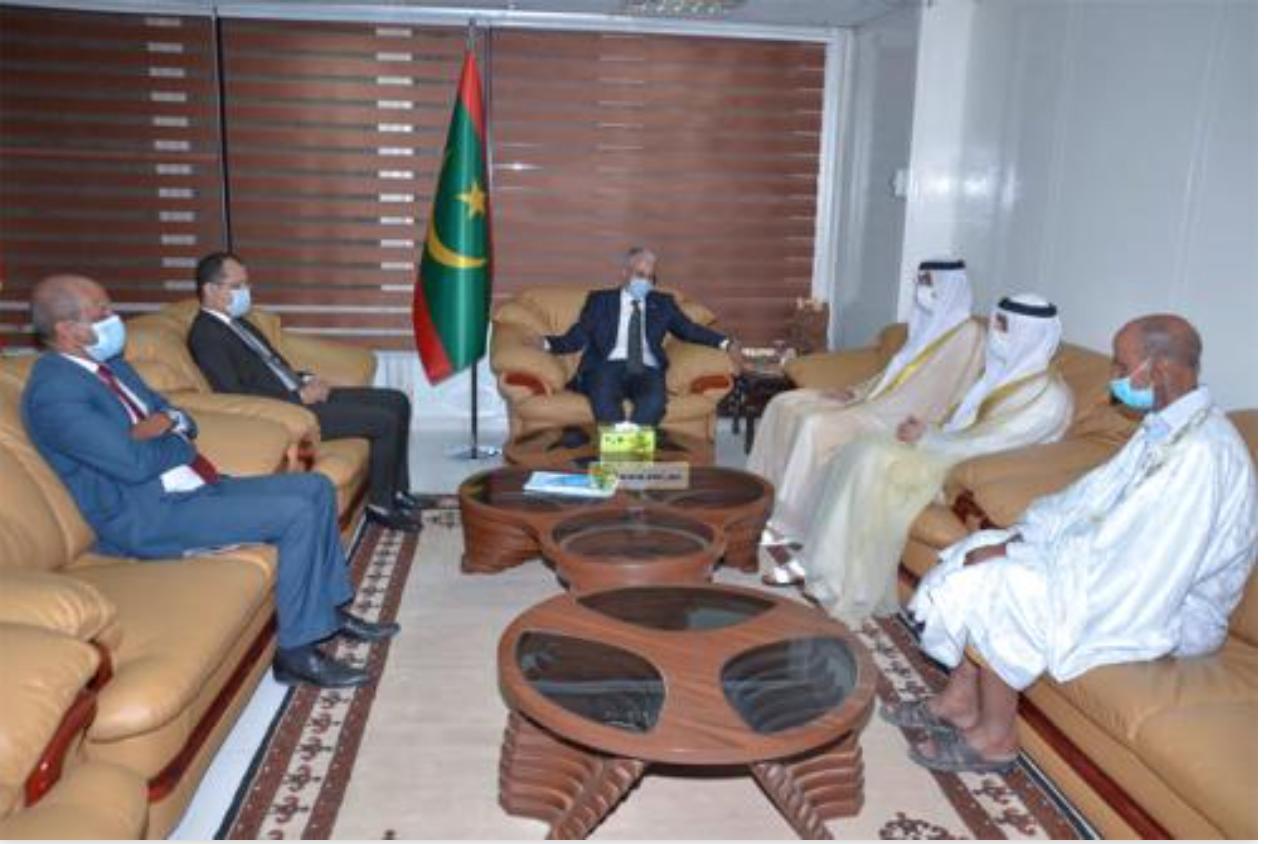 Le ministre de la Culture reçoit une délégation du département de la Culture des Émirats Arabes Unis