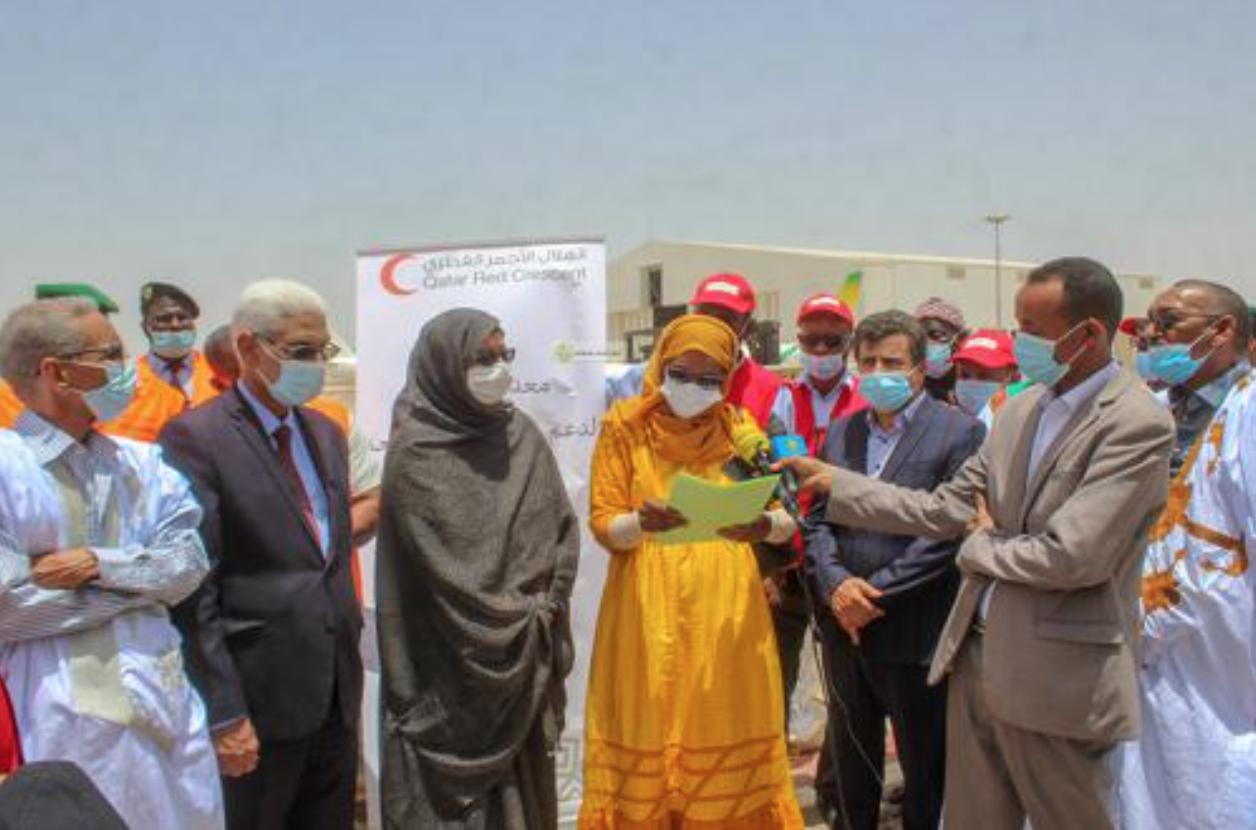 Boutilimitt : Réception d'un don qatari d'équipements sanitaires destinés à l'hôpital Cheikh Hamed