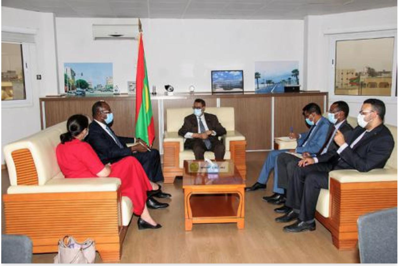 Le ministre du Pétrole se réunit avec le directeur des opérations à la Banque mondiale pour la Mauritanie