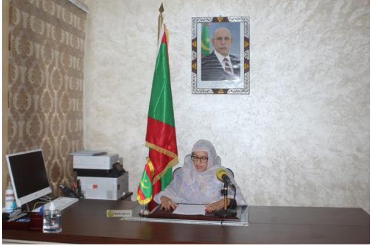La ministre de l'Environnement : Nous avons besoin de construire une nouvelle trajectoire de développement tenant compte de la capacité de nos écosystèmes à satisfaire nos besoins essentiels présents et futurs Nouakchott,  05/06/2021