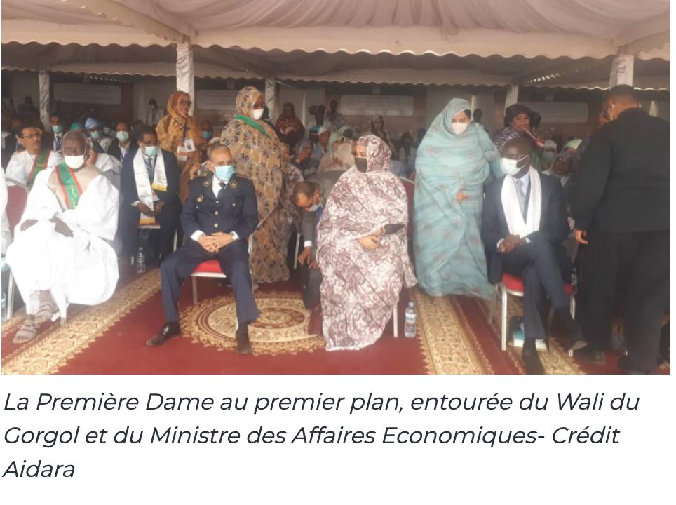Phase 2 Projet SWEDD, la Première Dame donne le top à Kaédi