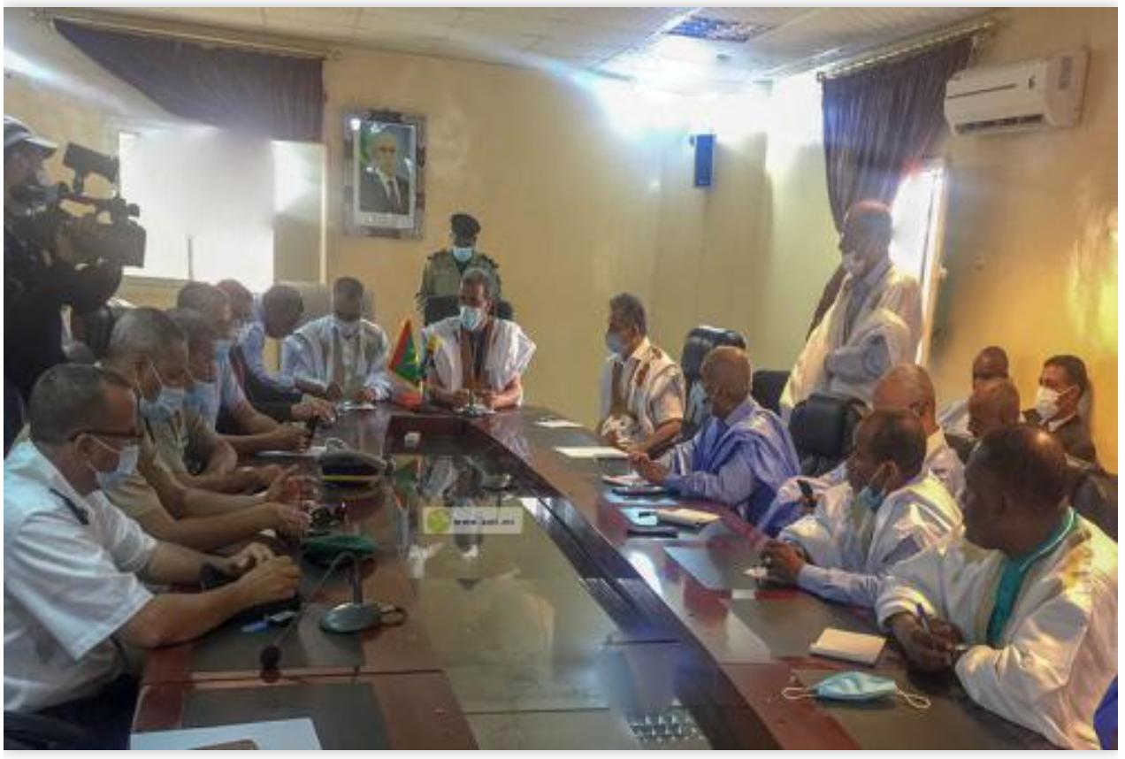 Le ministre des pêches se réunit avec les syndicats de la pêche