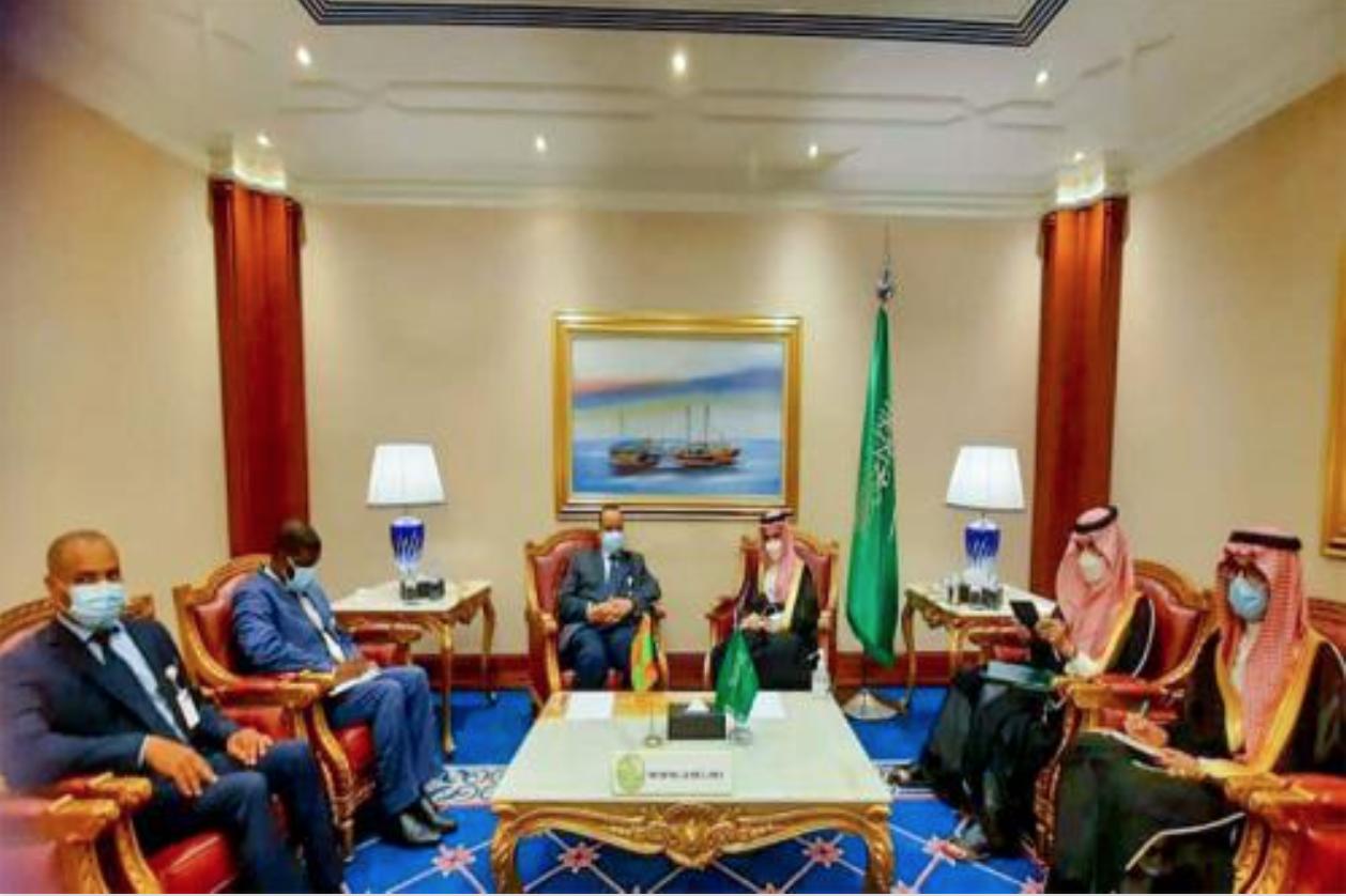 Le ministre des Affaires étrangères rencontre son homologue saoudien