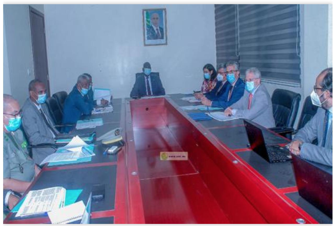 Le ministre des Affaires économiques rencontre le comité de suivi de la feuille de route de la coalition Sahel