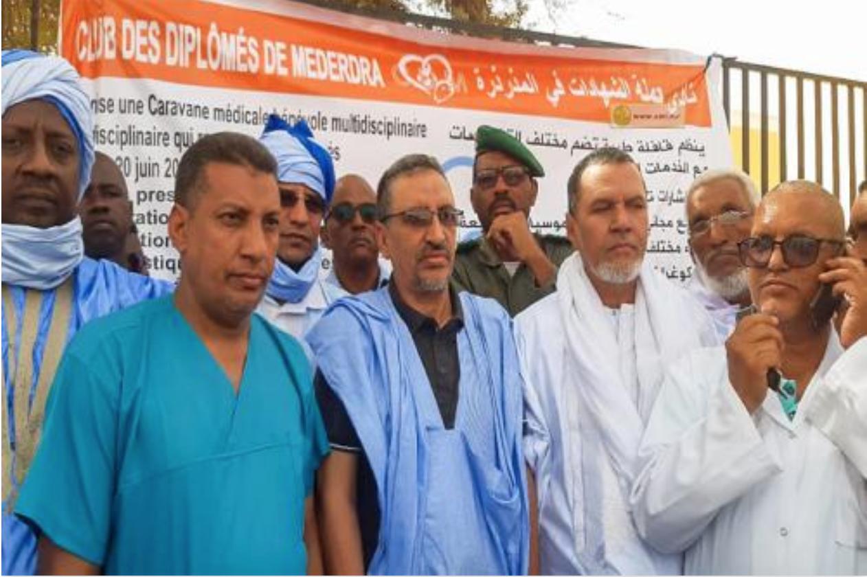 Medredra: Une caravane sanitaire multidisciplinaire effectue des soins curatifs