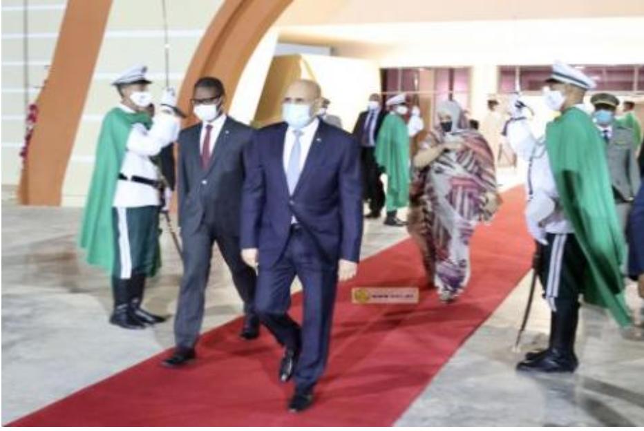 Seconde visite du Président Ghazouani en France en 40 jours