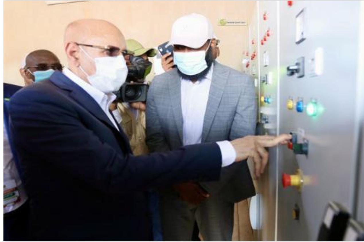 Le Président de la République supervise le lancement de la campagne agricole depuis Rosso