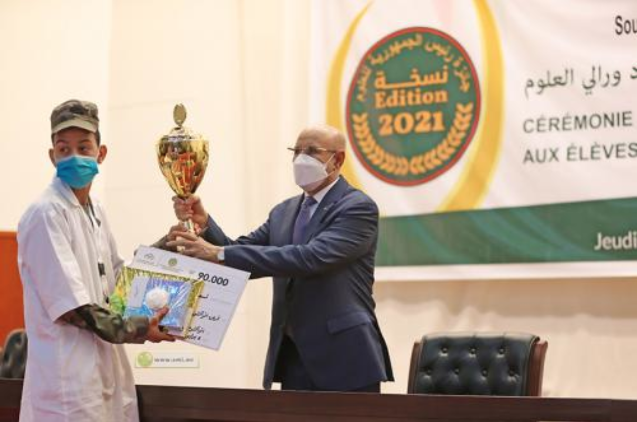 Le Président de la République préside la cérémonie de remise du Prix des sciences de l'année 2021