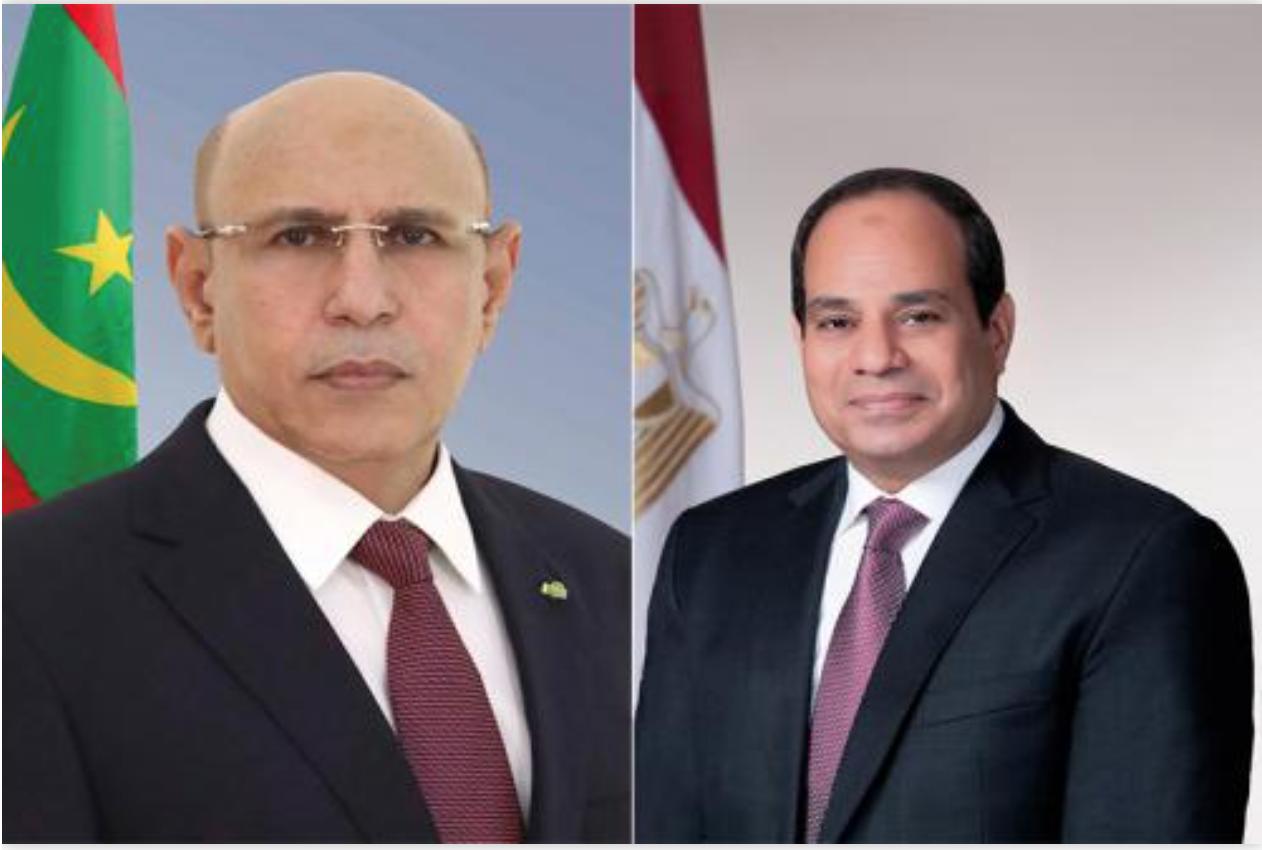 Le Président de la République félicite son homologue égyptien