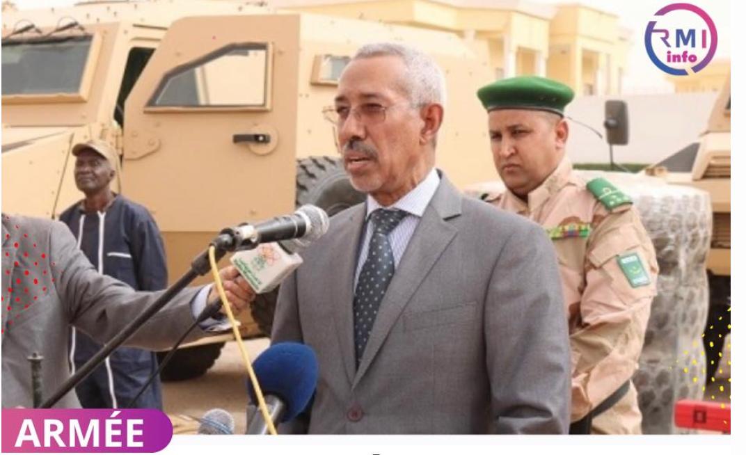 Le ministre de la défense annonce la transformation de l'école militaire interarmes d'Atar en académie