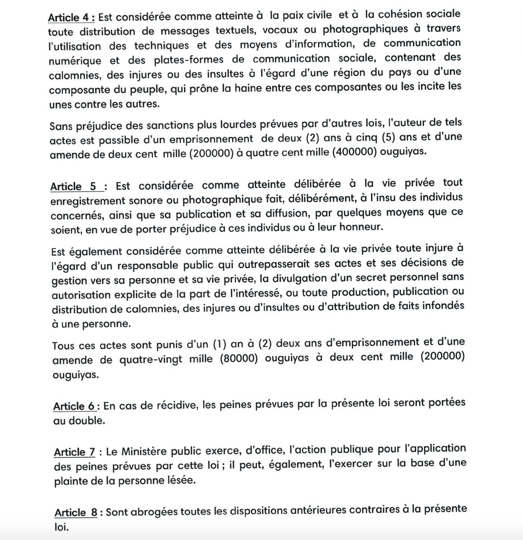 Analyse de la loi Ghazouani qui fait polémique : voici la preuve de la désinformation…