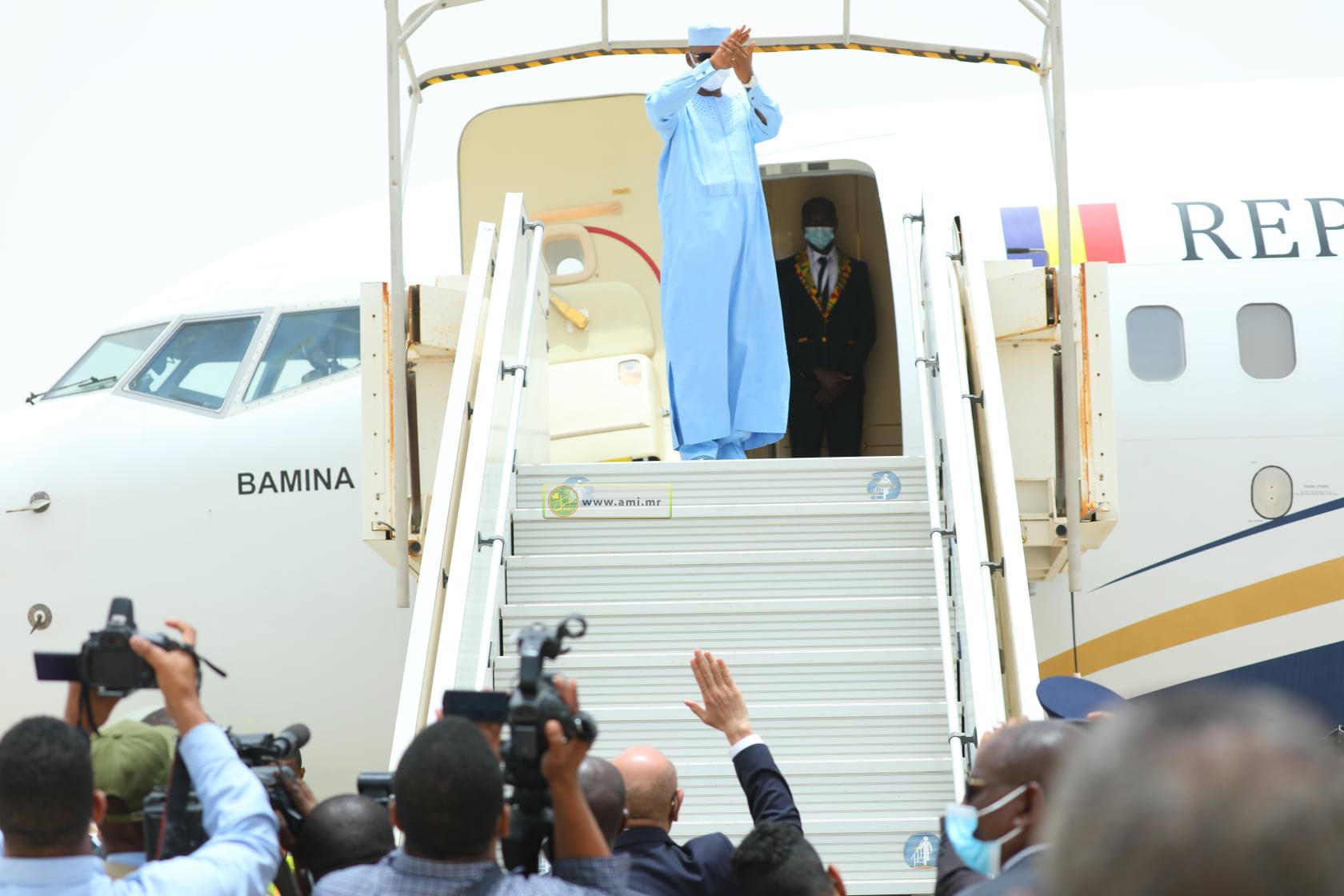 Le président tchadien quitte Nouakchott au terme d'une visite d'amitié et de travail en Mauritanie
