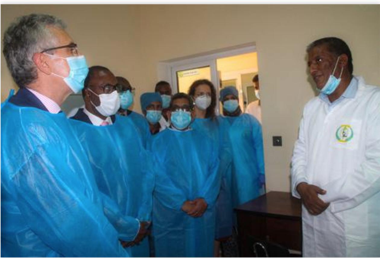 Santé : Entrée en service de l'appareil d'analyse par séquençage du génome des virus