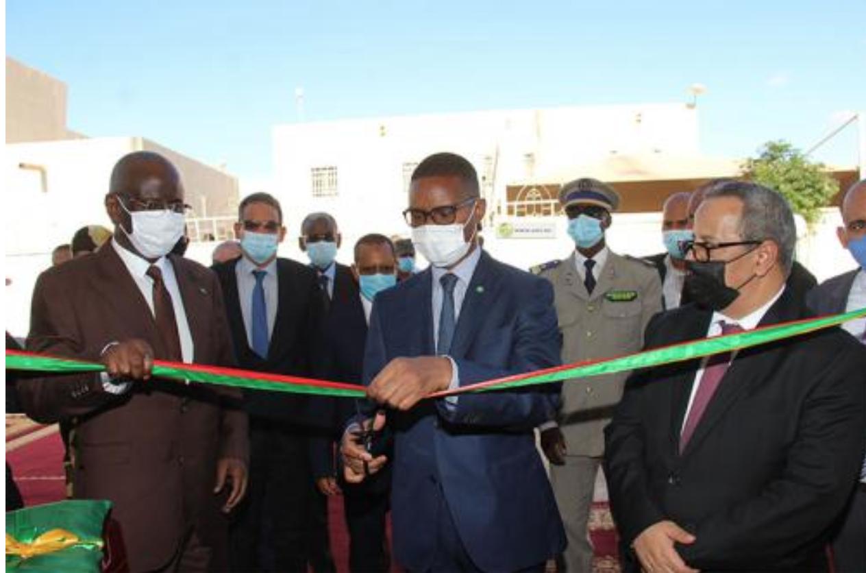 Inauguration du nouveau système de gestion du registre des populations et des titres sécurisés