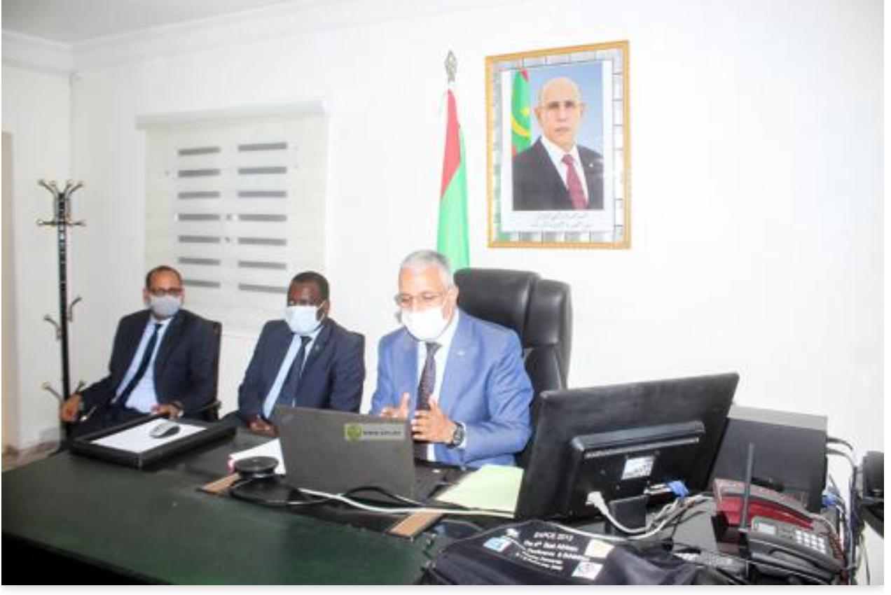 Le ministre de la Culture s'entretient avec le directeur général de l'ICESCO