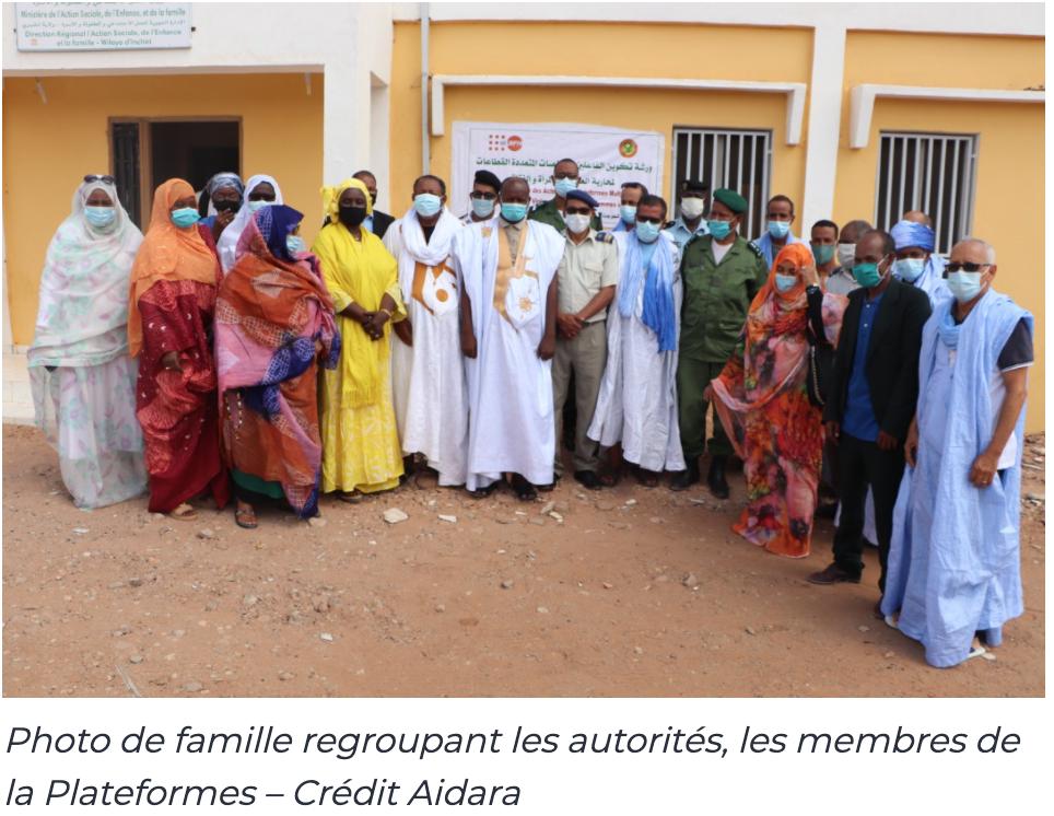 Akjoujt, mise en place de la Plateforme multisectorielle de lutte contre les violences basées sur le genre