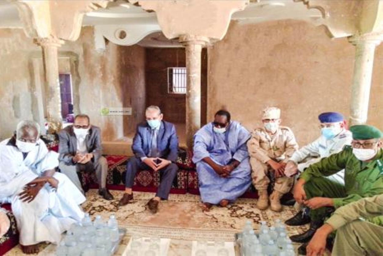 Présentation des condoléances du Président de la République à la députée de Kaédi