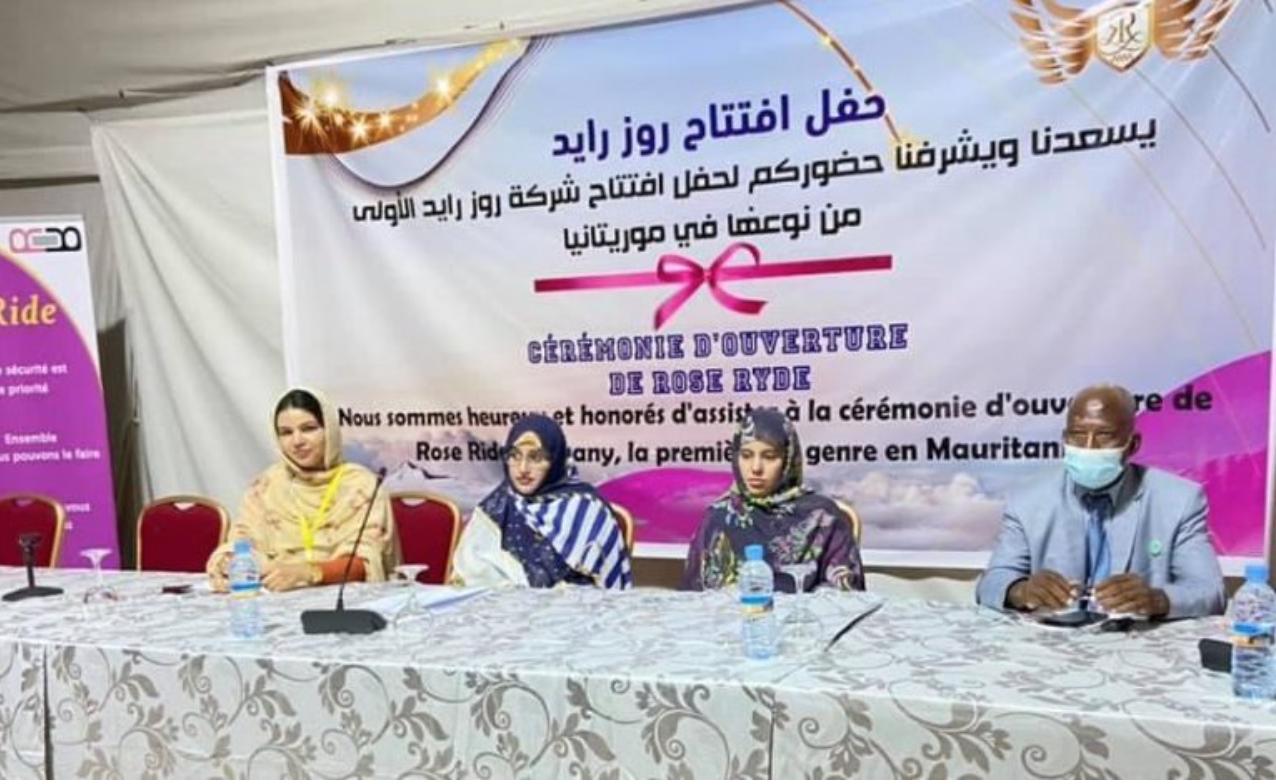 Nouakchott : Le service du taxi rose exclusif aux femmes lancé