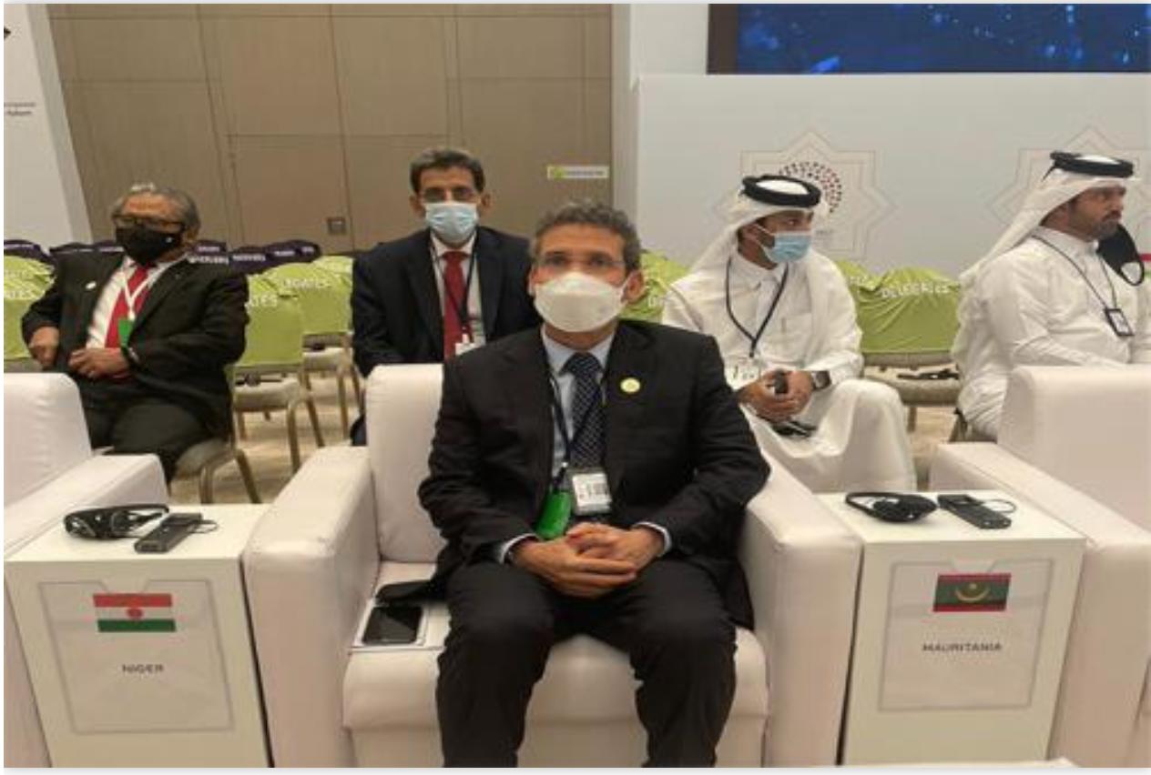 Le ministre des Finances regagne Nouakchott en provenance de Tachkent