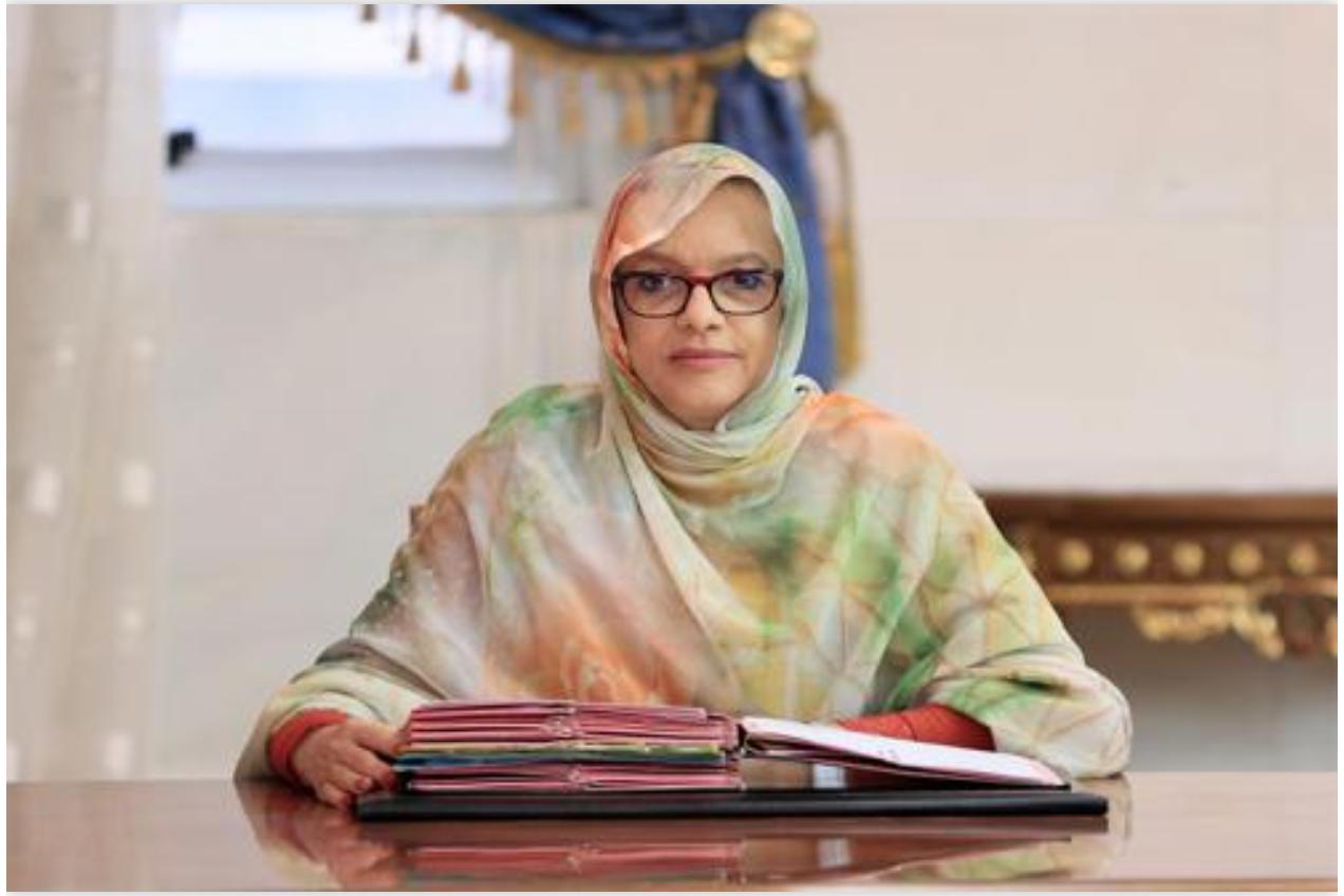 La ministre de l'Environnement regagne Nouakchott en provenance de Marseille