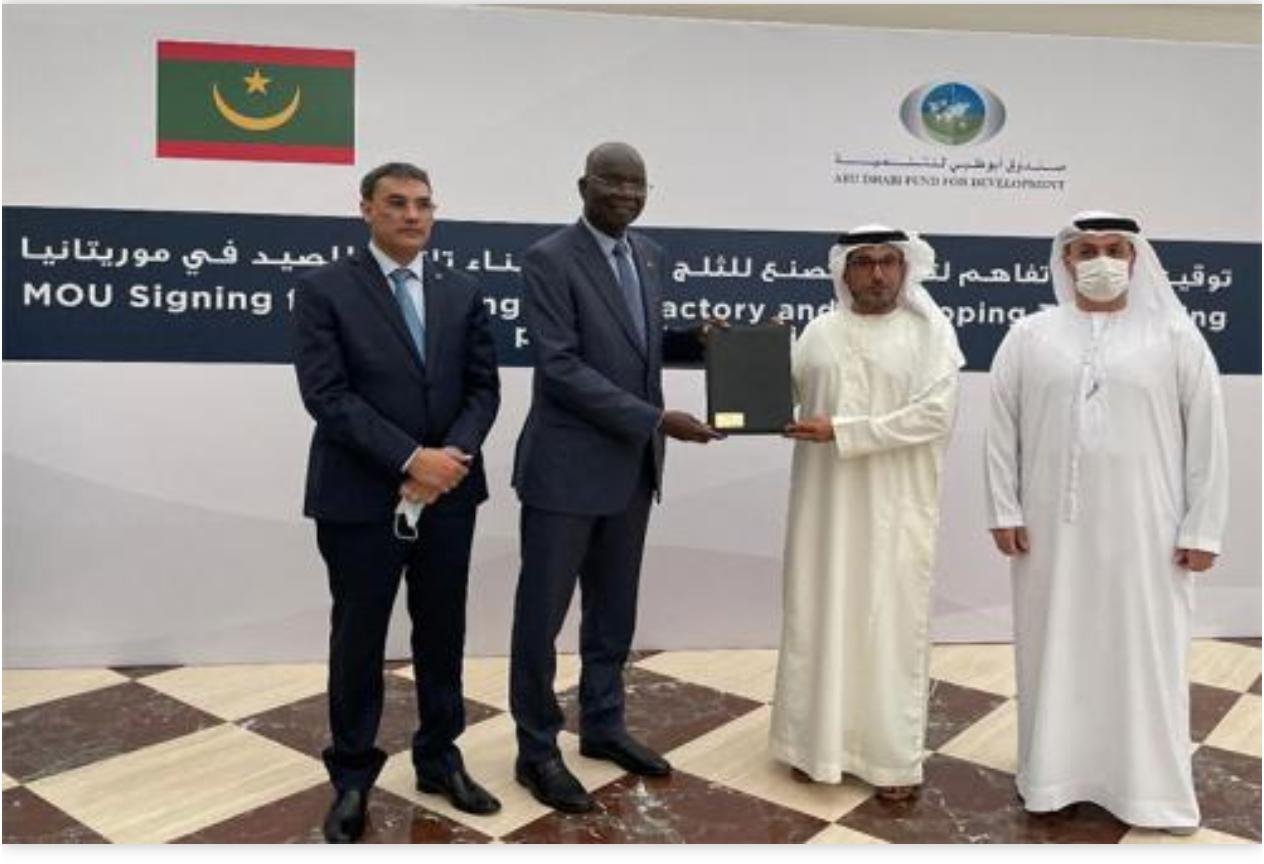 Le ministre des Affaires économiques signe une convention de subvention de 6,5 millions de dollars avec le Fonds d'Abu Dhabi pour le développement