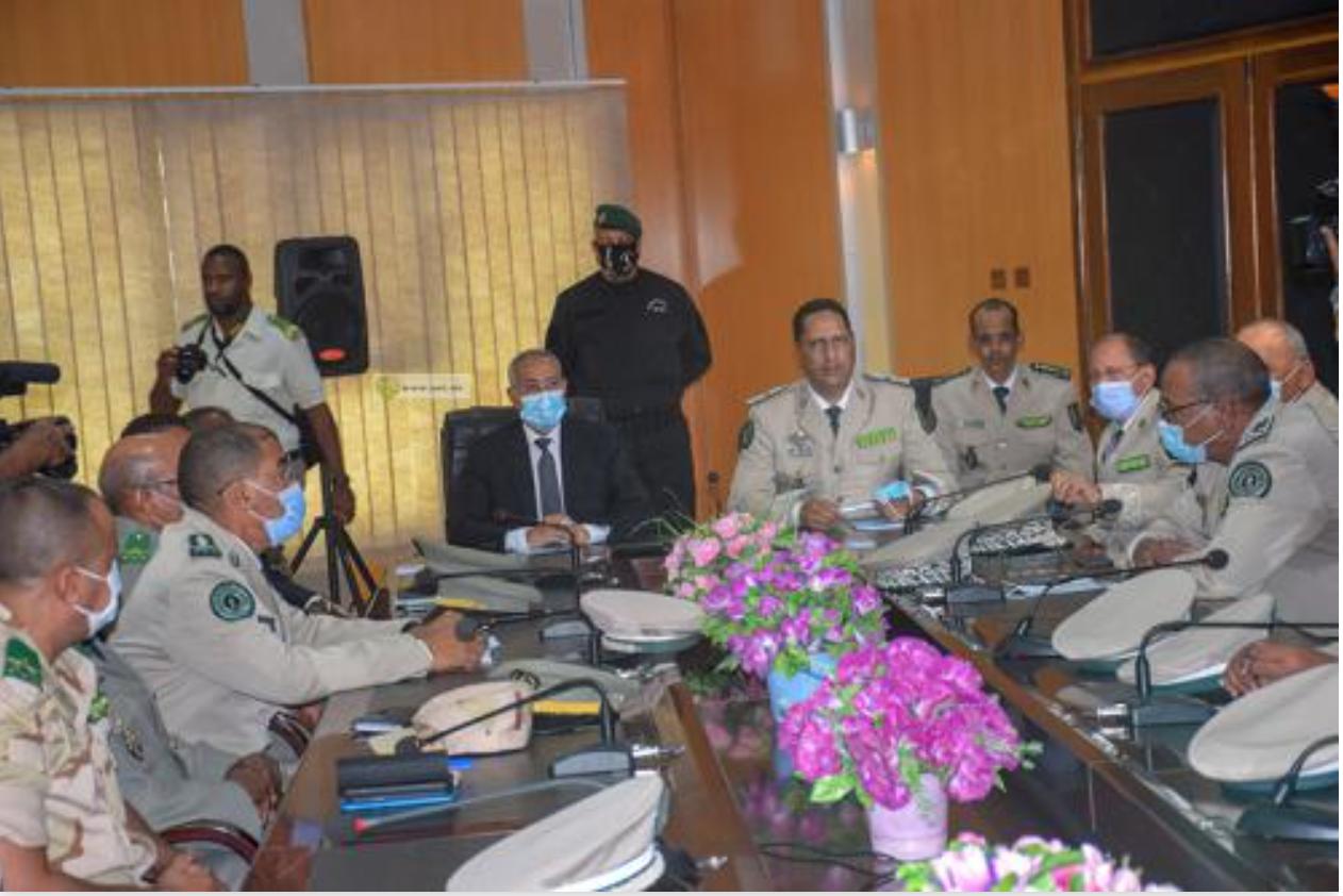 Le ministre de la Défense nationale s'informe sur l'état d'avancement du plan quinquennal 2020-2024 au niveau du corps de la Gendarmerie nationale