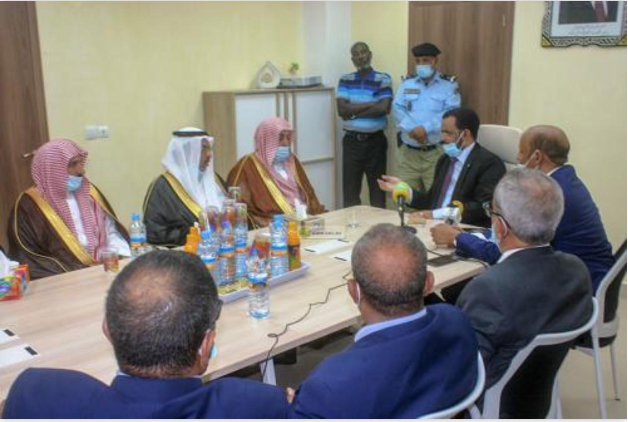 Le ministre des Affaires islamiques reçoit une délégation du Royaume d'Arabie saoudite