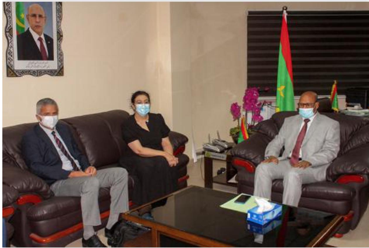 Le ministre de l'Agriculture reçoit le directeur du Département Moyen Orient Afrique du Nord à la Banque Mondiale