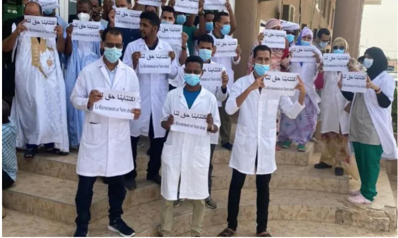 Des médecins demandent leur recrutement et dénoncent le travail de la commission nationale des concours