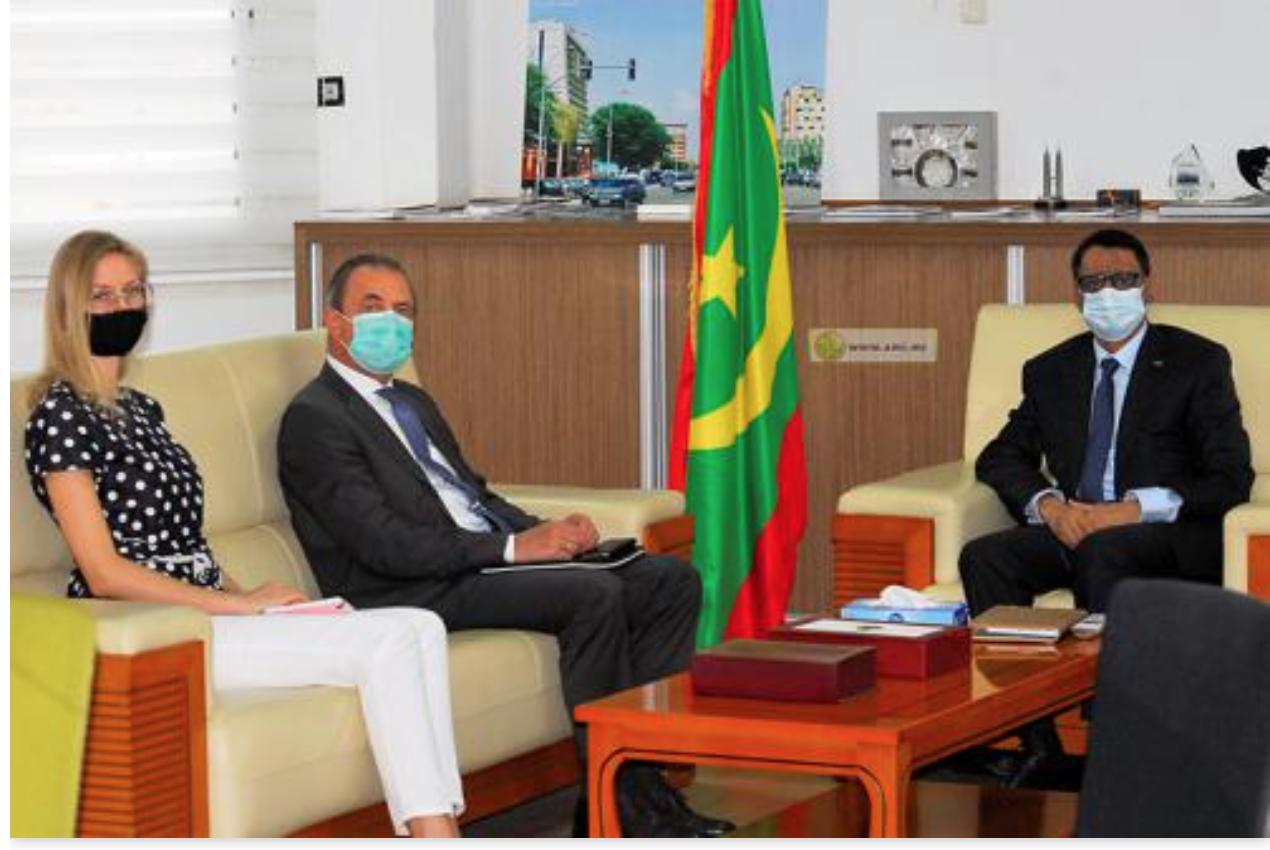 Le ministre du Pétrole reçoit l'ambassadeur de la Fédération de Russie
